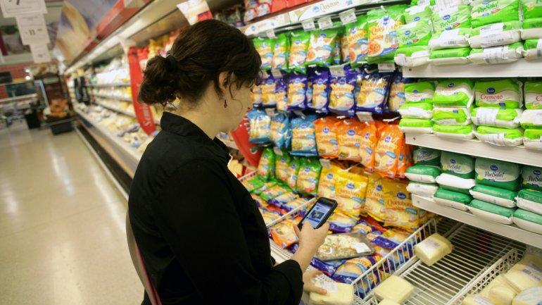 El consumo en supermercados y shoppings cayó más de 6% en octubre