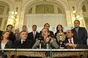 José Alperovich reconoció que se entregaron bolsones a cambio de votos en las elecciones de Tucumán