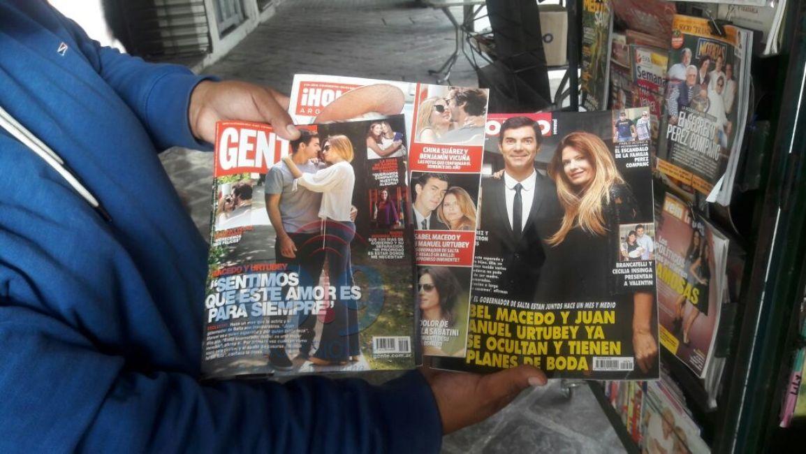 Volaron las revistas con urtubey y macedo cultura for Revistas de espectaculos