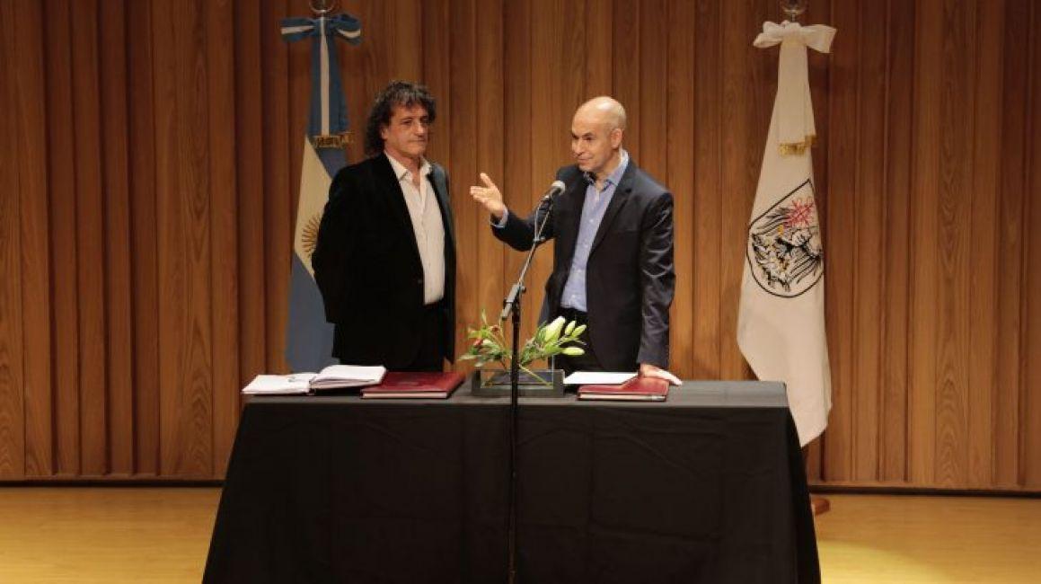 Angel mahler jur como nuevo ministro de cultura de la for Ciudad espectaculos argentina