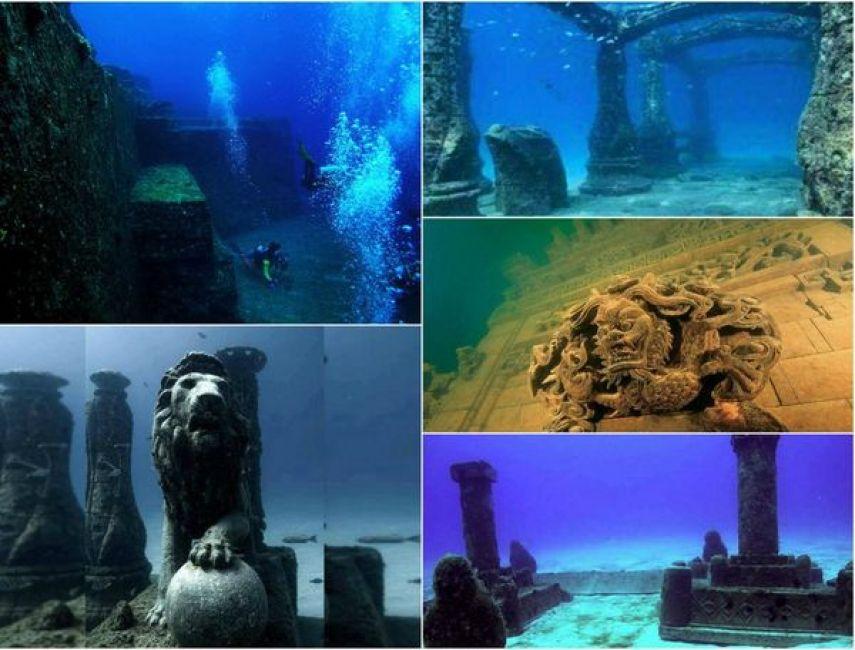 Antiguas y majestuosas 9 ciudades bajo el agua que for Imagenes de hoteles bajo el agua