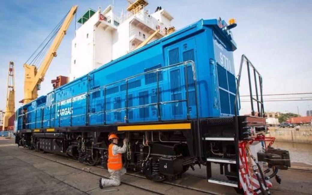 El Belgrano Cargas tiene nuevas locomotoras