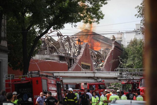 Confirman que el incendio de Iron Mountain fue intencional