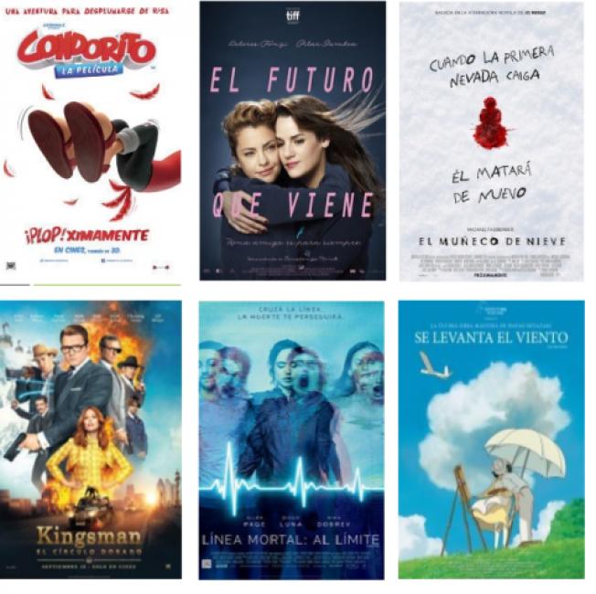 Seis novedades una de ellas argentinas cultura Noticias de espectaculos argentina