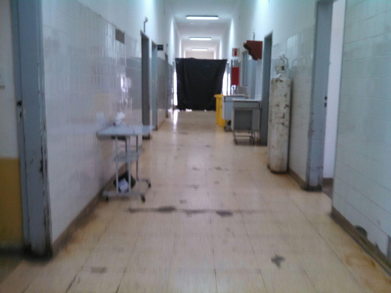 Refaccionan partes del hospital San Bernardo