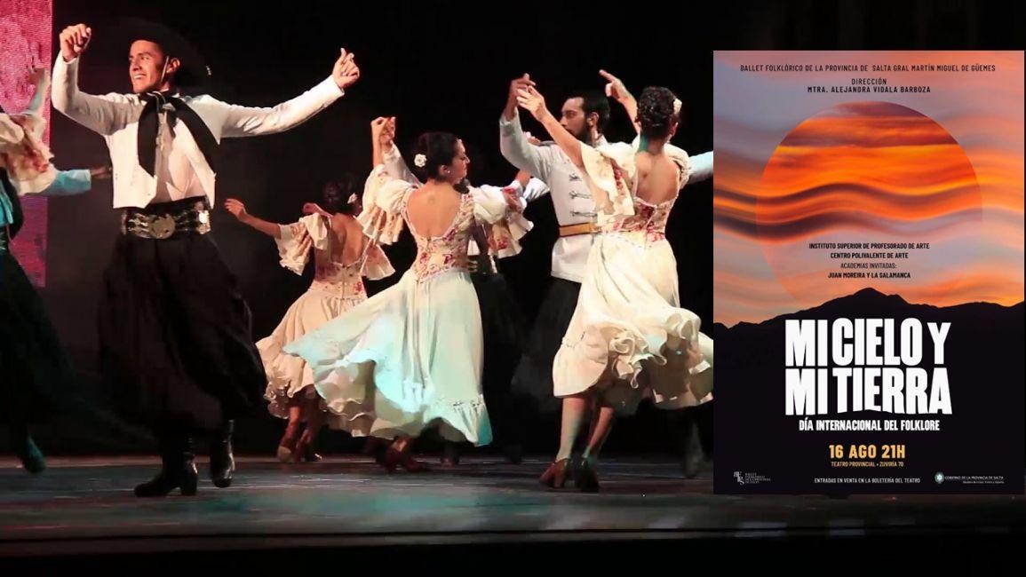 El Ballet invita a los salteños a celebrar el Día Internacional del Folklore - La Radio de Martin Grande