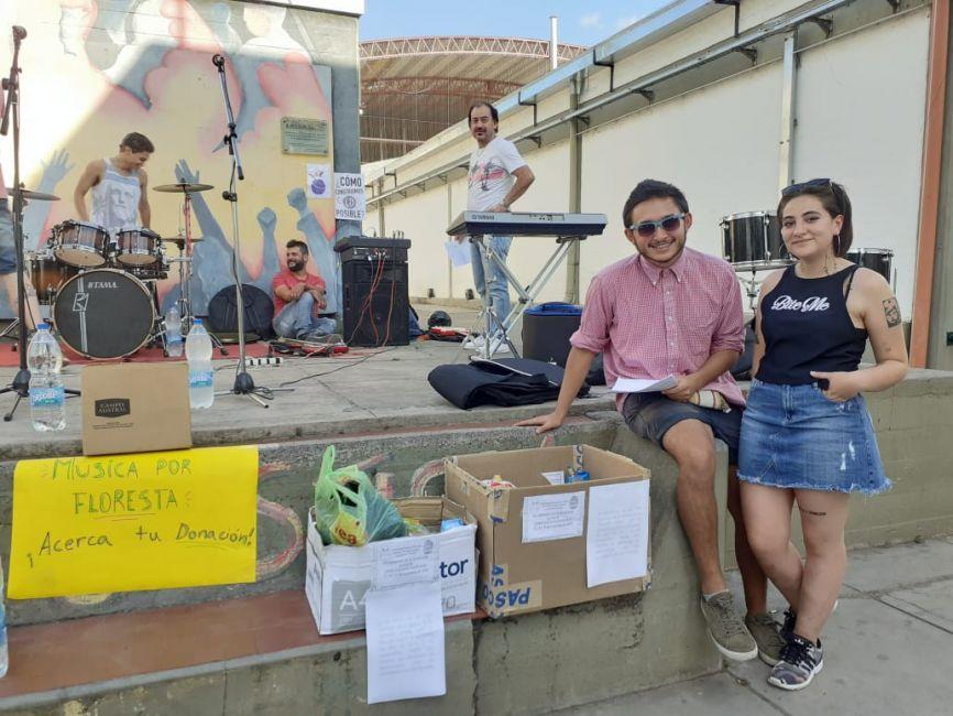 Organizaron un festival para ayudar a un comedor de Floresta - La Radio de Martin Grande