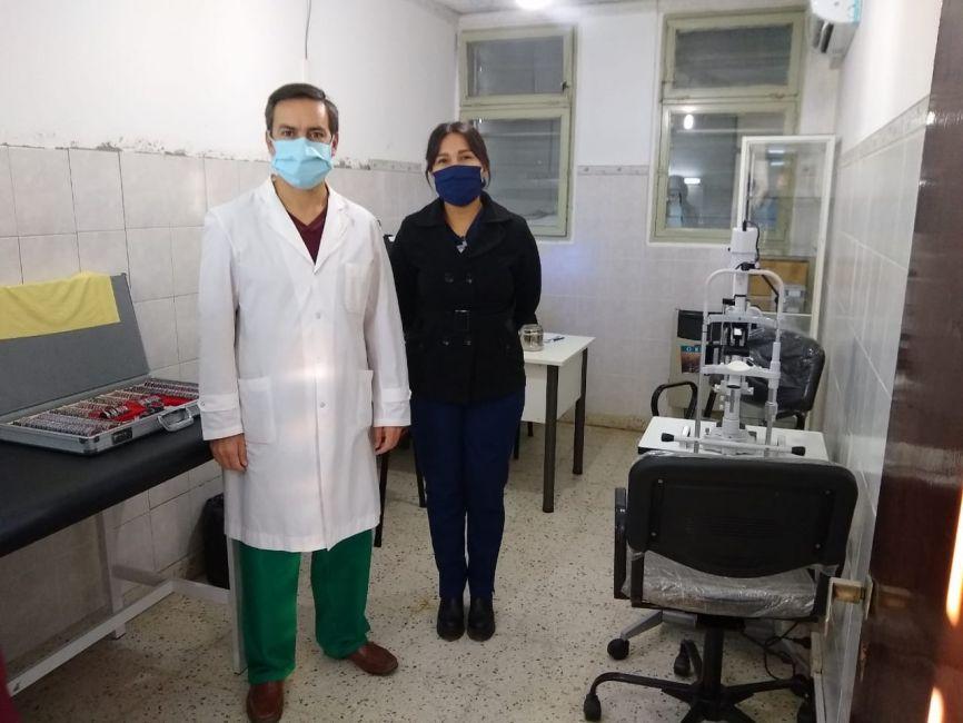 Brindarán atención oftalmológica en cuatro centros de Salud