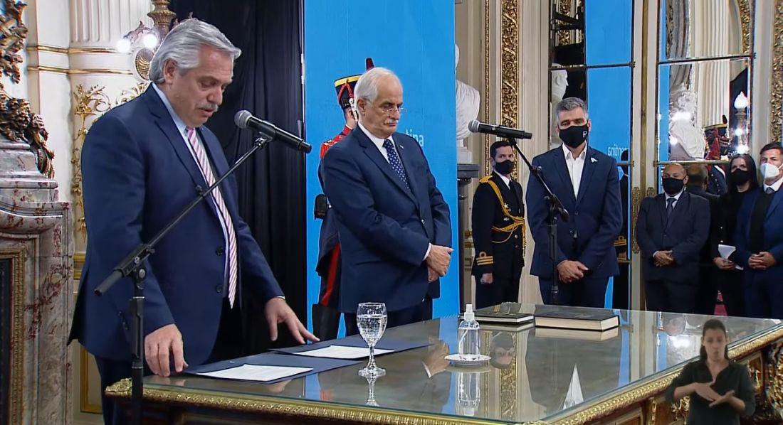 Juran los nuevos ministros del Gabinete de Alberto Fernández