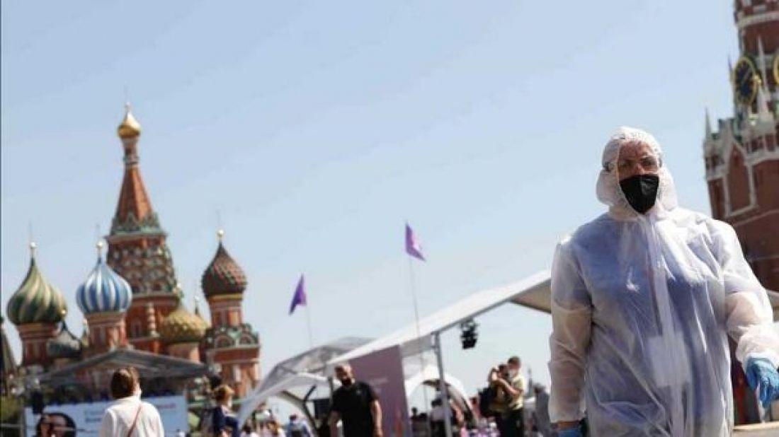 Rusia no logra frenar la ola de muertes por COVID-19 - Internacionales -  Profesional FM 89.9 Salta, Argentina