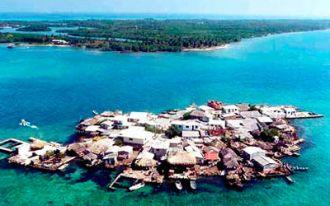 La isla más poblada no tiene mosquitos ni delito