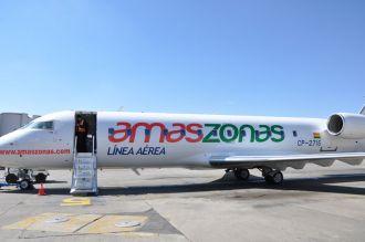 Amaszonas dejará de volar temporalmente desde Salta