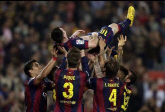 El Barça lo idolatra