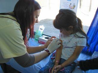 La campaña de vacunación fue más difícil en Capital que en el Interior