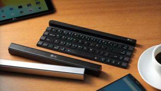 LG lanza un teclado enrollable portátil
