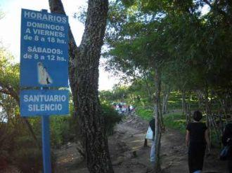 Un hombre murió  camino a la virgen del cerro