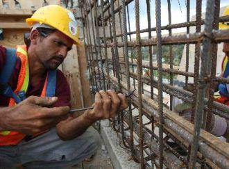 Crecimiento récord de la construcción pero sin aumento del empleo formal