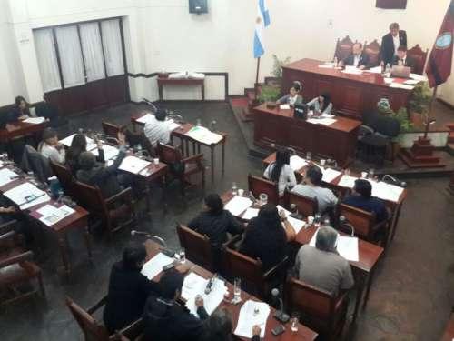 Concejales en disputa por las cuentas del 2013