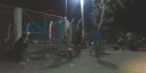 Vecinos de El Encón cortan el acceso a la cisterna