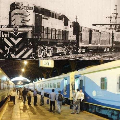 """Del """"Tren Tortuga"""" a los vagones chinos"""