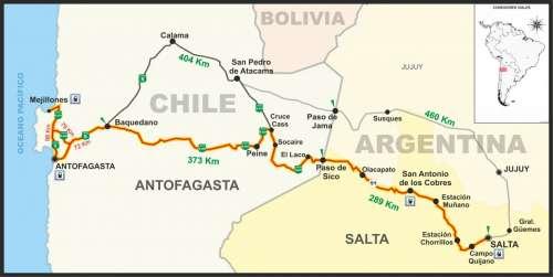 Antofagasta, 200 kilómetros más cerca