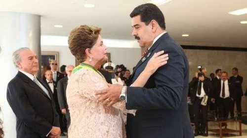 Rousseff no invocará la cláusula democrática del Mercosur contra Venezuela
