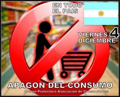 Convocan a un apagón de consumo en contra de supermercados
