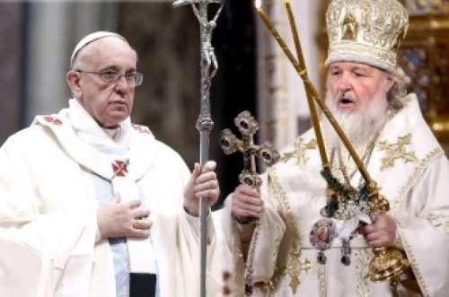 Francisco se reunirá en Cuba con el patriarca de la Iglesia ortodoxa rusa
