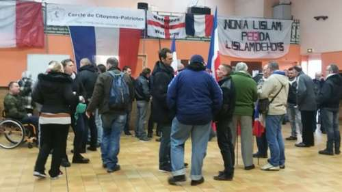 Francia: detuvieron a manifestantes durante una marcha anti-inmigrantes