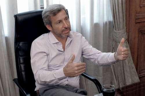 """Frigerio ratificó que el Gobierno """"no va a poner techo a las paritarias"""""""