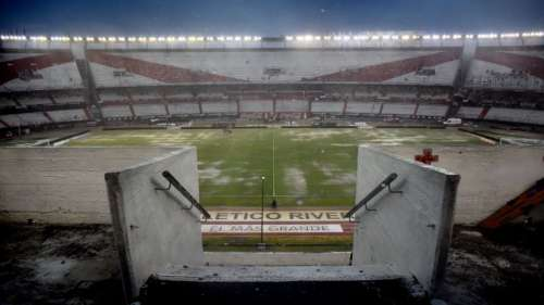 River-Quilmes suspendido por lluvia