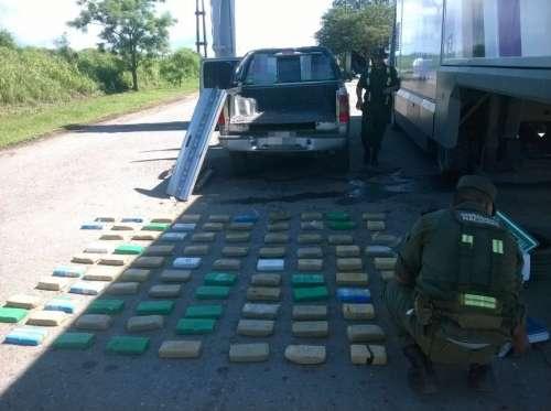 Gendarmería incautó más de 90 kilos de cocaína en Rosario de la Frontera