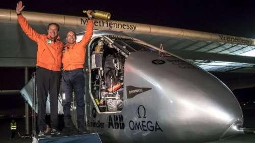 El avión Solar Impulse 2 aterrizó en San Francisco tras atravesar el Pacífico