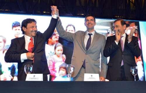Urtubey y Sáenz acordarán repavimentar la capital
