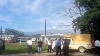 Paro total de colectivos en Jujuy