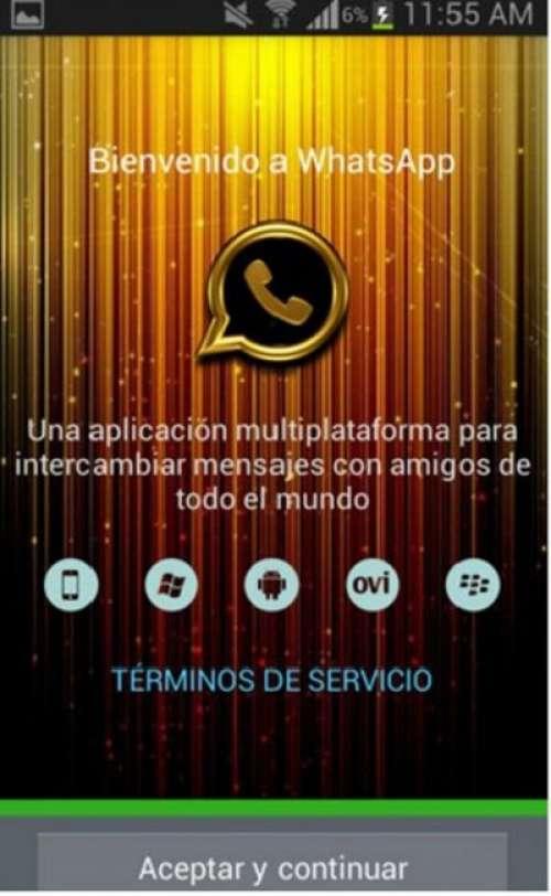 WhatsApp Gold, una falsa versión que pone en riesgo datos personales