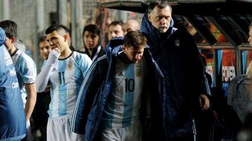"""Parte médico oficial de Lionel Messi: """"Importante contusión ósea"""""""