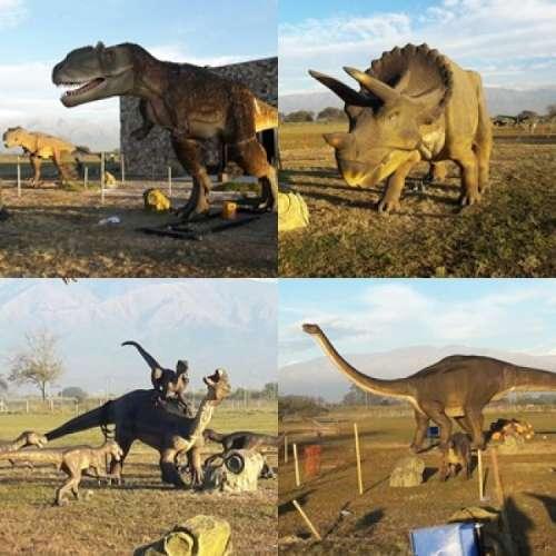 Limache fue invadida por dinosaurios