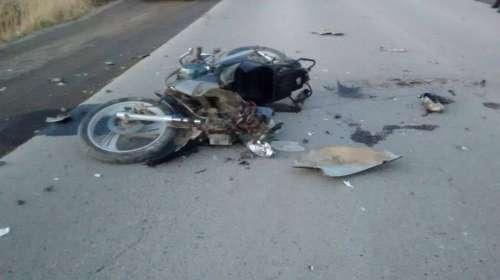 Motociclista falleció en una colisión