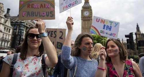 Más de 1,5 millones de británicos piden un nuevo referendo