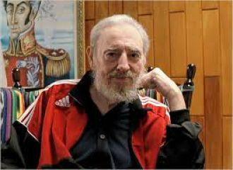 """Reapareció Fidel Castro y dijo: """"No confío en EE.UU."""""""