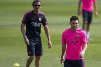 La pelea entre Messi y Luis Enrique, contada desde adentro