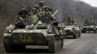 Ucrania: ejército inicia retiro de artillería de zonas acordadas