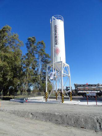 En marzo de 2016 será inaugurada la planta de Nitratos Austin