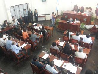 Reafirmaron las autoridades del Concejo Deliberante