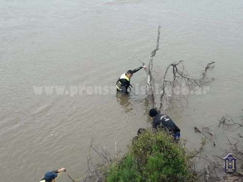 Hallaron sin vida a un pescador en el Juramento