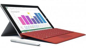 Microsoft presentó la Surface 3