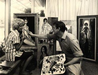 El infierno de la artista que iluminó a Tim Burton