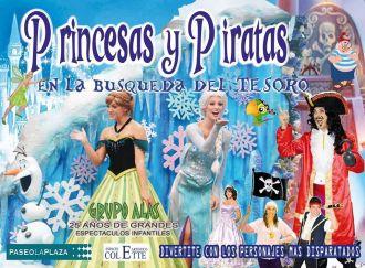 Princesas y Piratas buscarán un tesoro en el teatro del Huerto