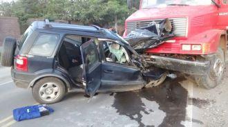 Grave accidente sobre ruta 51